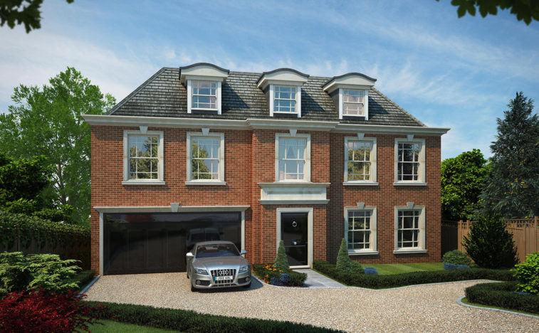 Plot for sale in Esher